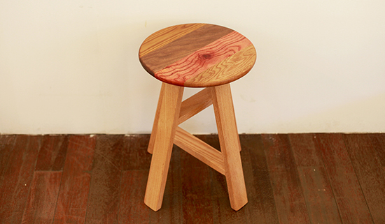 Patchwork R-stool